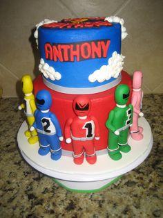 Power Rangers Children's Birthday Cakes : 4 Power Rangers Birthday ...