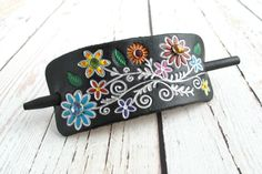 Hey, I found this really awesome Etsy listing at https://www.etsy.com/listing/200332490/leather-hair-accessories-womens-gift