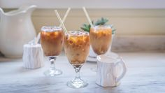 Honey Vanilla Iced Coffee...Perk up your afternoon with this tasty iced coffee drink sweetened with honey.