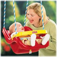 Amazon.com: Fisher-Price Infant to Toddler Swing: Toys & Games