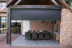 Pergola, Porch, Garage Doors, Deck, Outdoor Decor, Patio Ideas, Caravan, Home Decor, Houses