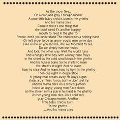 In the ghetto, Elvis Presley : this song leaves me in bits ! Song Lyrics And Chords, Great Song Lyrics, Lyrics To Live By, Songs To Sing, Music Lyrics, Music Songs, Elvis Lyrics, Elvis Sings, Saddest Songs