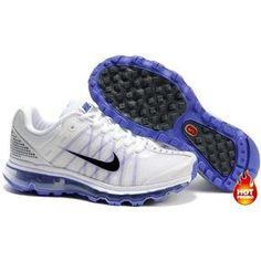 Nike Air Max 2009 Women Mesh Shoes White/Blue/Black Color Air Max 2009, Blue Black Color, Cheap Air, Nike Air Max, Sneakers Nike, Female, Mesh, Woman, Shoes