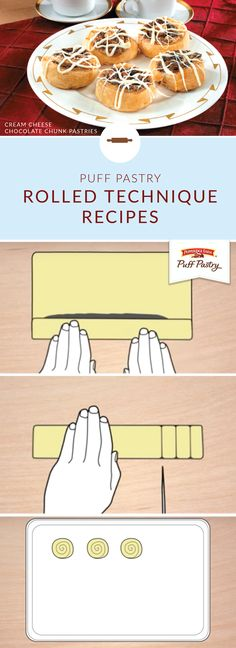 Want to learn how to make delicious Pepperidge Farm® Puff Pastry recipes in just a few easy steps? Check out these helpful tips and tricks! This rolled pastry technique will leave you feeling like a gourmet cook.