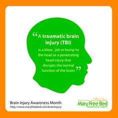 Brain injuries can happen anytime, anywhere, to anyone.