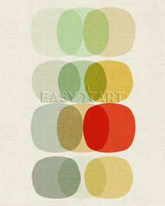 Keep It Simple Circle, Inaluxe Tavlor, Glicée & Canvas från Easyart.se