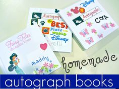 preparing kids for disney: autograph books! | get kids ready for their disney vacation! #disneysmmoms