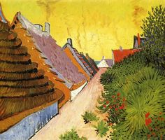 Van Gogh, Street in Saintes-Maries, June 1888. Oil on canvas, 38.3 x 46.1 cm. Private collection.