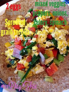 21 day fix approved meal