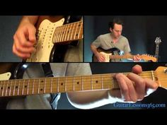 Don't Look Back In Anger Guitar Lesson - Oasis - YouTube