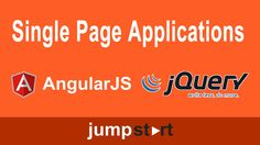 Tutorials: Single Page Applications with jQuery or Angular JS  Developers, want to translate your MVC .NET skills to the web platform? Take advantage of jQuery and AngularJS to dynamically update HTML5-based apps, and learn how AJAX works for asynchronous calls. Simplify the development process by separating the model, view, and controller for your web apps, enabling your content to work within a browser and within Windows 8 and Windows Phone 8 apps.