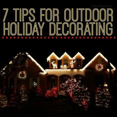 Many people get into the spirit of decorating for the holidays by decking their house in holiday fare. While most focus on the inside, some extend those decoration to the outside, as well. If you want the whole neighbourhood to see your excitement for the holidays, try these great tips for decorating your home. Find …