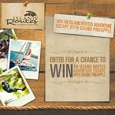 Don't miss the opportunity to win an unforgettable experience!
