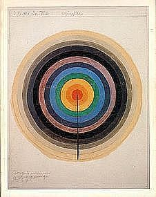 Hilma Af Klint : progressive and spiritualist painter and a pioneer among women artists. Piet Mondrian, Wassily Kandinsky, Abstract Painters, Abstract Art, Sophie Taeuber Arp, Tantra Art, Eye Illustration, Illustrations, Hilma Af Klint