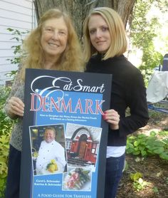 Eat Smart In Denmark, a culinary guide by Carol and Katrina Schroeder that includes the history of Danish cuisine, regional and holiday specialties, 30 recipes from Danish chefs in American measurements, and two extensive Danish-English glossaries of food terms. Www.eatsmartguides.com.