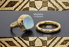 Bagues or 18ct Collection Mosaica