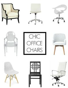 Budget-friendly sources for Chic Office Chairs...
