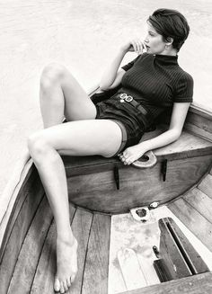 Laetitia Casta by Pamela Hanson for Elle France July 3rd, 2015