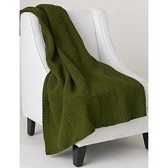 Ravelry: Simple Textured Blanket pattern by Caron Design Team