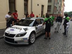 ŠKODA FABIA R5: Looking good! @EsapekkaLappi with the @MotorsportSkoda Fabia 1.6T R5 on Rally Bohemia today. pic.twitter.com/UYScsJKXbS