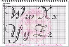 Um novo mimo pra vocês.....   Monograma FonteValletort Vihégas   Espero ver lindos bordados!!!
