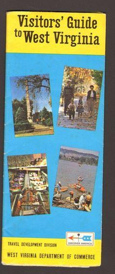 Undated Travel Vacation Souvenir Brochure Visitors Guide to West Virginia WV