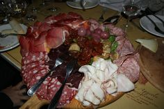 The Tuscan delight. Food to die for from the Tuscan hills