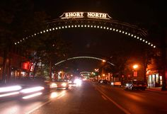 The quirky Short North that is home to many unique restaurants and shops in Columbus!