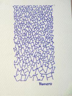 pinterest structuren   caligrafia, arte y diseño: Ejercicios de textura