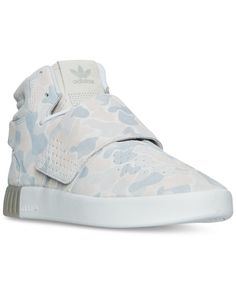 e371aac97838c6 adidas Men s Tubular Invader Strap Casual Sneakers from Finish Line Casual  Sneakers