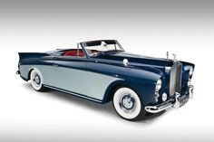 "1958 Rolls-Royce Silver Cloud I ""Honeymoon Express"" Drophead Coupe"