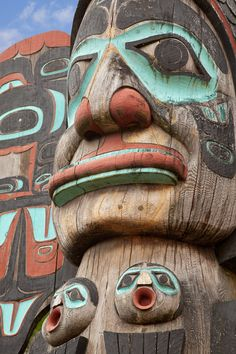 Ketchikan, Alaska...The cruiselines kind of arket Ketchikan is Toten Pole land. With the confluence of the three major Native cultures in Southeast Alaska, the Tlingit, Haida and Tsimpshian, all carvers of totem poles; Ketchikan has the largest collection of totem poles in Alaska.