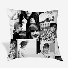 Justin Bieber Pillow Cover