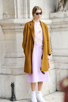 Veronika Heilbrunner at Stella McCartney FW 2014/2015 Paris Snapped by Benjamin Kwan Paris Fashion Week