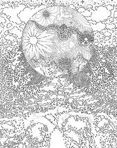 ALL IS FULL OF LOVE - drawing by Hisham Akira Bharoocha