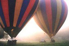 Take a hot-air balloon ride over France...