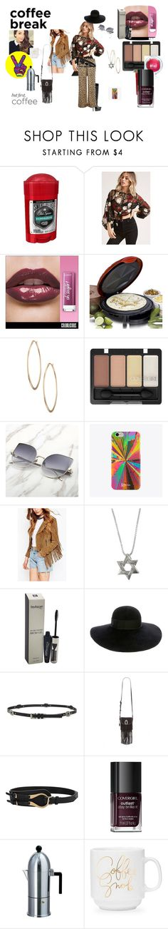 """Polyvore contest VILXIIM"" by naomig-dix ❤ liked on Polyvore featuring Old Spice, Forever 21, Elite, Lydell NYC, UPROSA, COVERGIRL, Eugenia Kim, Nemesis and Alessi"