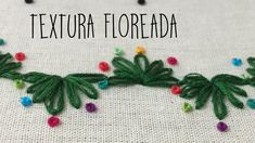 TEXTURA Floreada