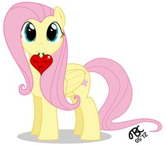 Fluttershy: Um.., I love you! by TBCroco on deviantART http://tbcroco.deviantart.com