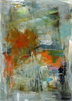 Abstract Landscape, Landscape Paintings, Abstract Art, Modern Art, Contemporary Art, Learn To Paint, Painting Techniques, Abstract Expressionism, Mixed Media Art