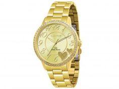 Relógio Feminino Lince LRG4184L C2KX - Analógico Resistente a Água