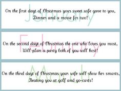 Cute date ideas for each month of the year.