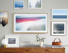 Le nuove Smart TV Frame di Samsung diventano opere darte