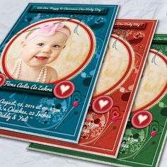 Stitch Styles Baby Anouncement Card by FionaCreatiiv on Etsy, $4.00