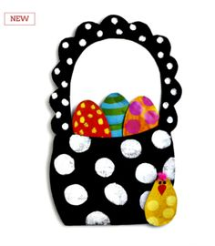 Easter Basket with Eggs Door Hanger **NOW AVAILABLE**