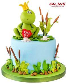 Kurbağa Prens Doğum Günü Pastası