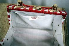 Retro Wicker Basket Handbag Purse by RogueRetro on Etsy