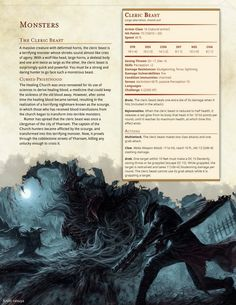 DnD 5e Homebrew (Search results for: CR 5-10) cleric beast monster Cthulhu other plane