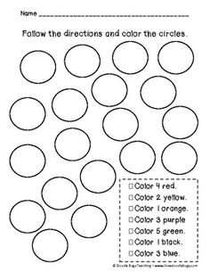 Kindergarten or beginning First Grade Review Math Sheets  it would be interesting to see where exactly they put they colors.