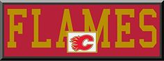 Calgary Flames Team Name Are Mat Cut Out Letters With Team Color Double Matting & Team Logo Under-Awesome & Beautiful Large Picture-All Teams Available-Please Go Through Description & Mention In Gift Message If Need A different Team Art and More, Davenport, IA http://www.amazon.com/dp/B00LO618P0/ref=cm_sw_r_pi_dp_kCeDub12VDD1Q